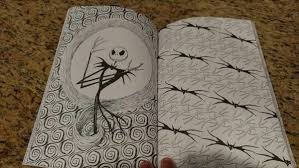 art of coloring the nightmare before christmas coloring book