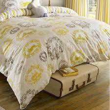 cecile duvet cover size double colour buttercup amazon co uk