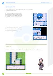 pokemon brown version game guide on behance