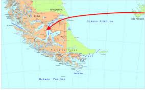 Latin America Physical Map Grand Logistics Falkland Islands Invade South America