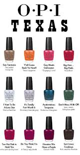 opi texas nail polish collection for spring 2011 makeup4all