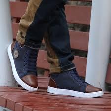 spring autumn men u0027s casual canvas shoes boots