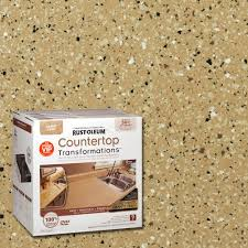 Home Depot Paint Prices by Rust Oleum Transformations 48 Oz Desert Sand Small Countertop Kit