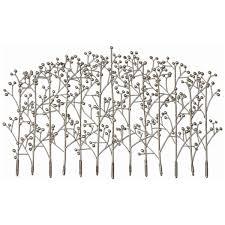 amazon com uttermost 05018 iron trees metal wall art wall