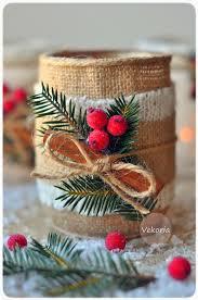 diy christmas candle vekoria handmade decor for home