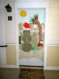 Christmas Decorations Ideas For Home Office Door Christmas Decorating Door Decoration Ideas For
