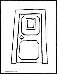 door colouring pages u0026 our front door