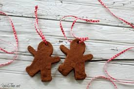 gingerbread cinnamon dough ornaments knick of time