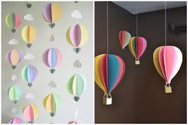 air balloon decorations for classroom make your own air