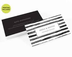 500 business cards design gold printed business card