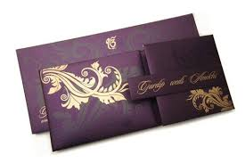 wedding card india history of wedding invitation cards in india
