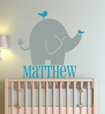 elephant wall decals for nusery