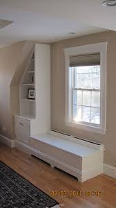 built in cabinets baseboard heat built in storage in a new