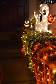 how to make spooky halloween trees spooky front door decor for halloween