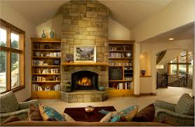 fabulous decorating stone fireplace ideas living room decor and