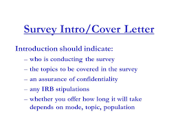 cover letter for survey cover letter image how the code will look