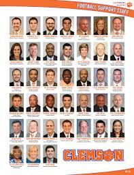 Recruiting Assistant Clemson Football 2016 Sc State Gameday Program By Clemson