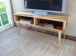 Midcentury Modern Tv Stand - home design mid century modern tv stand media console with open
