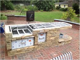 modern outdoor kitchen backyards ergonomic outdoor kitchen island frame kit 85 bbq kits