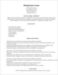 Finance Resume Templates Accounting U0026 Finance Resume Templates To Impress Any Employer