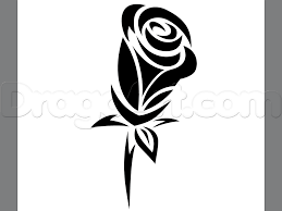 how to draw a tribal rose tattoo step by step tattoos pop