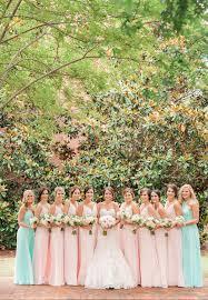 mint green wedding a blush pink and mint green wedding nearlyweds