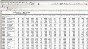 Microsoft Excel Accounting Template Usa Salon Accounting Spreadsheet Template