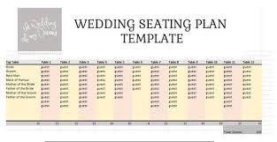 Free Wedding Seating Chart Template Excel Wedding Seating Plan Template Planner Free The