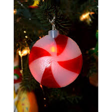 set of 8 battery operated led musical peppermint twinkling