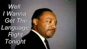 martin luther king i a testo dr martin luther king jr speech w and lyrics