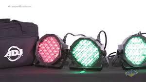 american dj led lights american dj mega flat pak lighting package adj mega par profile