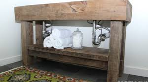 Diy Rustic Bathroom Vanity Rustic Diy Rustic Bathroom Vanities Car Tuning