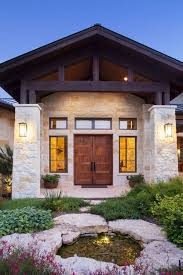 house plans with big windows hill country home design architect house plan designs