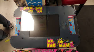 Ms Pacman Cocktail Table Arcade Factory Com