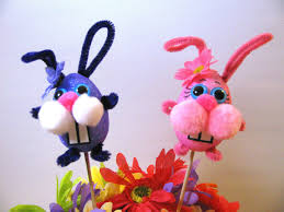 diy easter bunny crafts for kids puppets decorations arte