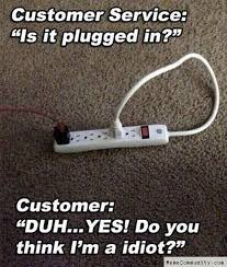 Fail Meme - customer service is it plugged in funny fail meme image