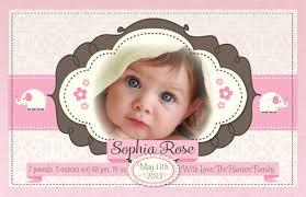 birth announcement pink baby girl birth announcement di 6001 harrison greetings