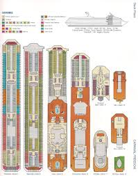 second story deck plans pictures fre2 carnival freedom deck plans caribbean cruise pinterest house