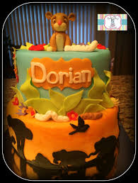 Lion King Baby Shower Cake Ideas - lion king baby shower cake cake by genel cakesdecor