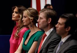 The Trump Family by Trump Family Drops Access Offered For Charity Donations