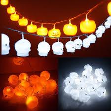 Halloween Orange Lights by Halloween Skull Lights Promotion Shop For Promotional Halloween