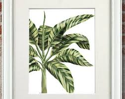 Tropical Decor Pineapple Print Tropical Decor Monstera Leaf Pineapple Wall