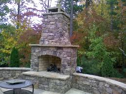 outdoor fireplace kits 100 complete