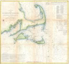 Nantucket Map File 1857 U S Coast Survey Map Of Cape Cod Nantucket And