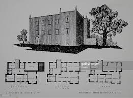 Floor Plan And Perspective Project Josef Hoffmann Pictures Getty Images