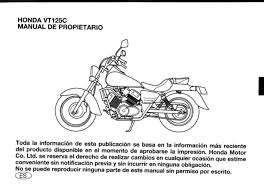 manual honda shadow vt 125 documents