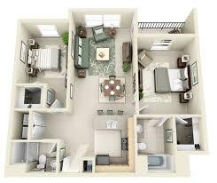creative two bedroom apartment plans ideas 41 round decor