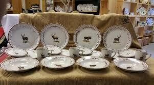 dinnerware rustic melamine dinner plates set of 4 rustic italian