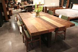 butcher block table and chairs chic ideas butcher block dining room table outdoor fiture