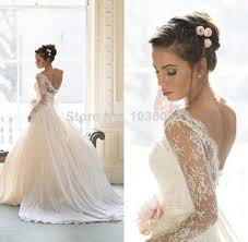 wedding dress lace back and sleeves sleeve mermaid wedding dresses open back design your bridal